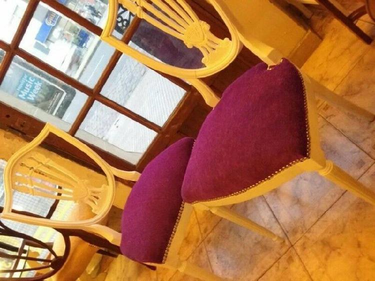 Muchas sillas de estilo restauradas $ 2500 cada una