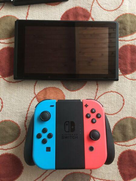 Nintendo switch 4 juegos de alta gama pro controller funda