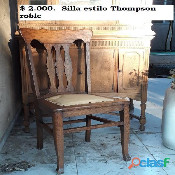 Silla estilo thompson