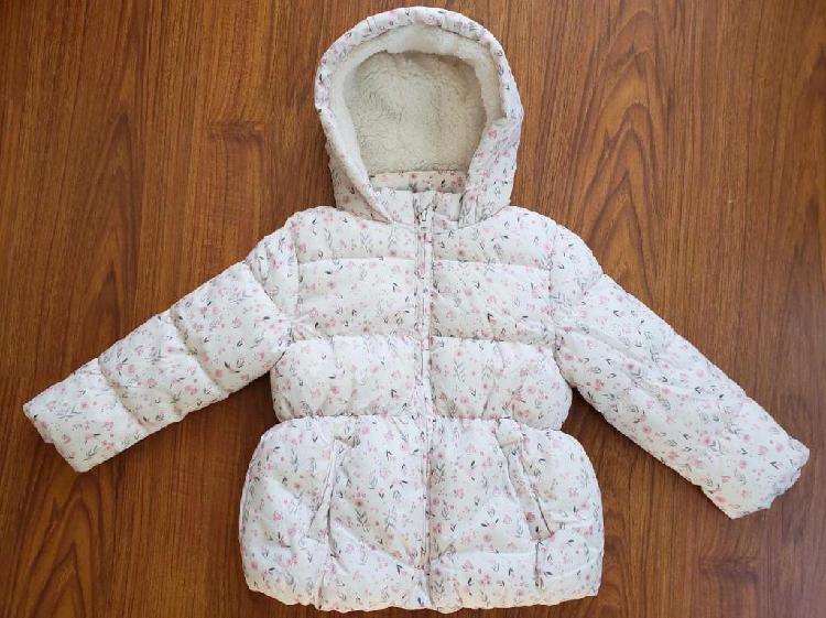 Campera abrigo de nena, nueva!
