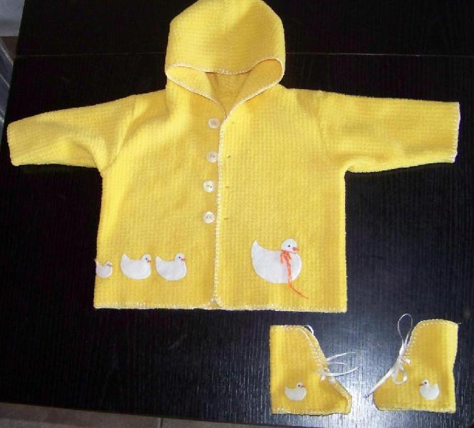Conjunto de polar, saco, campera, batita, abrigo, bebe