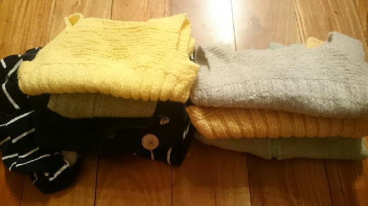 Lote ropa abrigo bebe campera chaleco