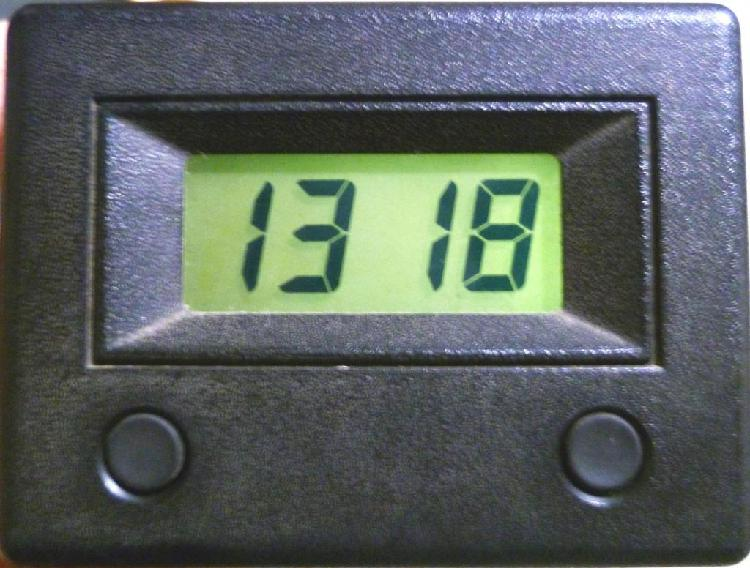 Renault reloj digital