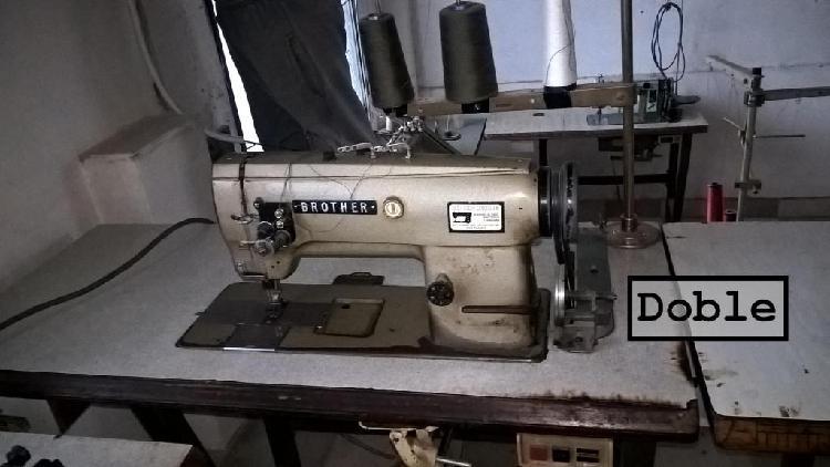Lote de maquinas de coser industriales, liquido juntas o
