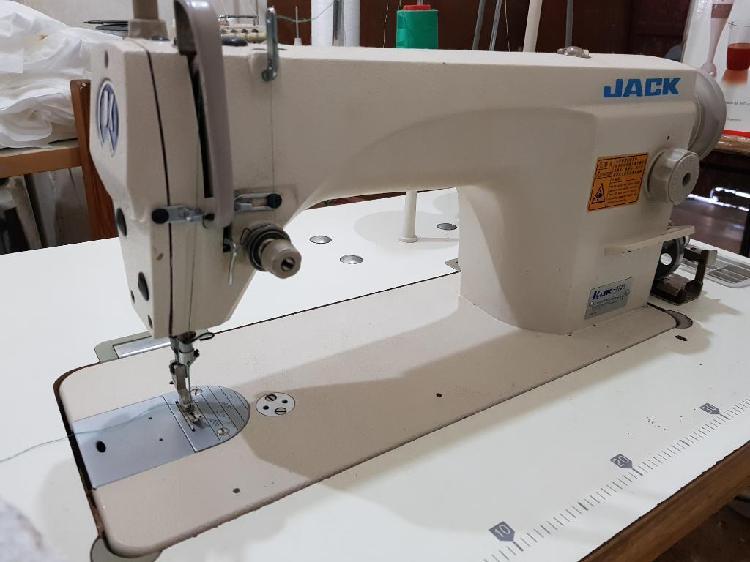 Maquina de coser recta jack