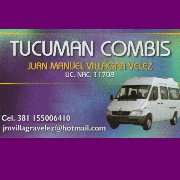 Servicios de traslados tucuman combis