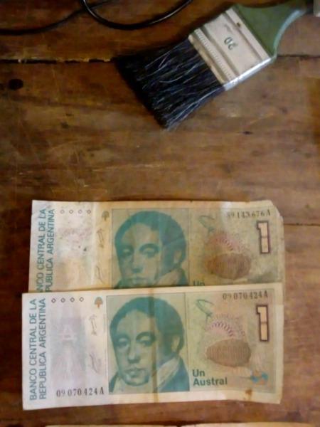 Vendo billetes antiguos argentinos
