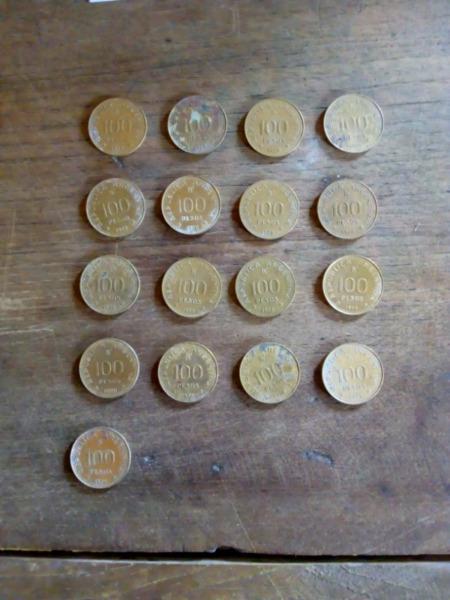 Vendo monedas antiguas argentinas y algunas extranjeras