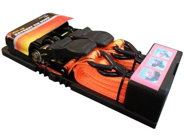 2 cintas de amarre crique zuncho cuatri,moto,trailer