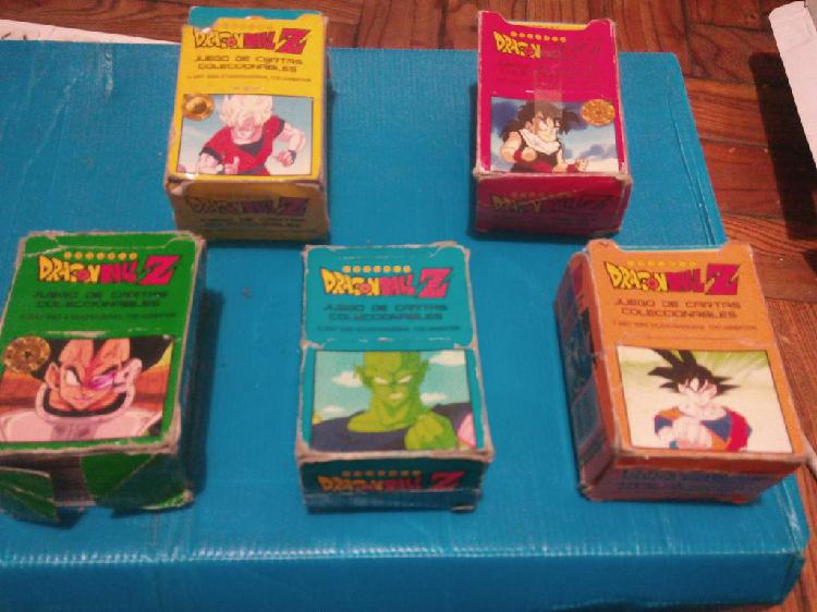 Cartas de dragon ball z $5 oferta liquido!