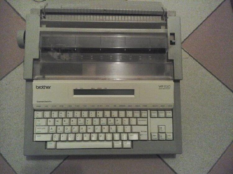 Maquina escribir brother - wp-1150