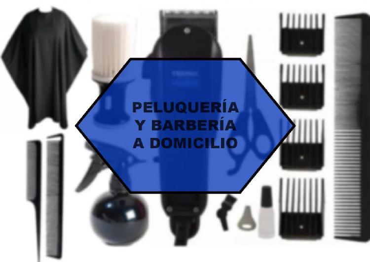 Peluquería/barbería a domicilio