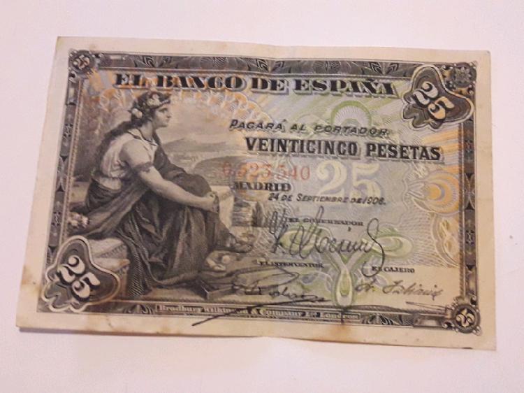 Pesetas antiguas españolas