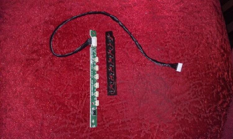 Receptor de control remoto y botonera p hitachi cdh-le32fd14
