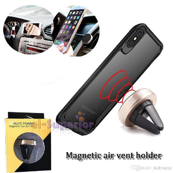 bea2cb55cdb Soporte holder auto magnetico gps iphone samsung lg celular
