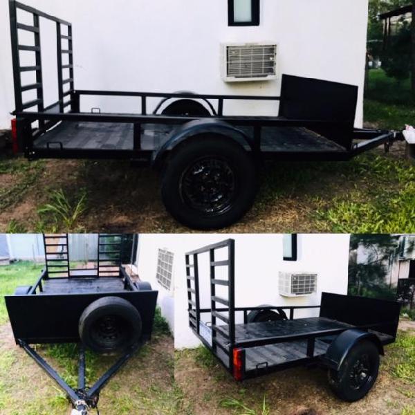 Vendo trailer nuevo para cuatri sin uso