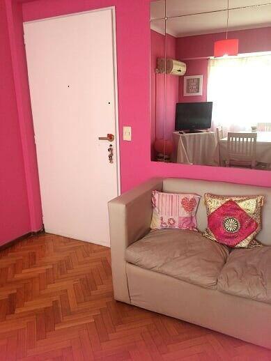 Alquilo temporario en palermo, 2 ambientes piso alto, 2 pax