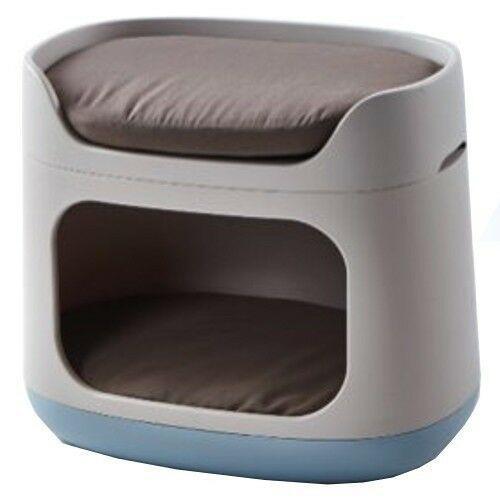 Bunkbed, 3 en 1, cama jaula transportadora perros, gatos,