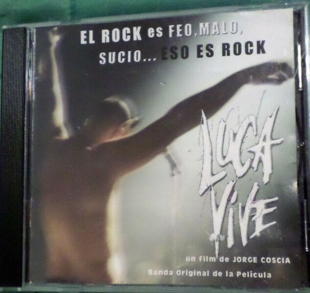 Luca vive. cd original. banda de sonido de la película.