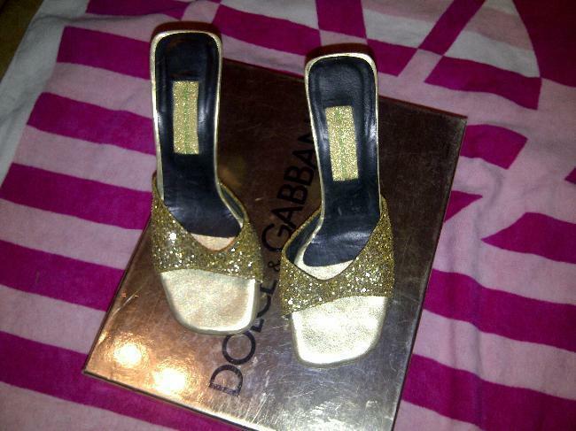 Maria vazquez sandalias con glitter para fiestas