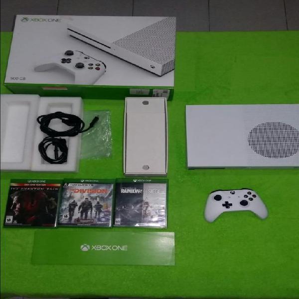 Consola videojuegos xbox one s 4k 500gb juegos