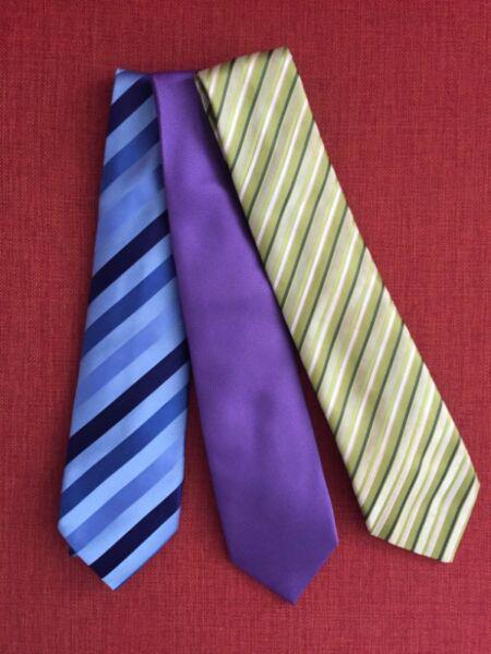 3 corbatas ives saint laurent y polo club x $500
