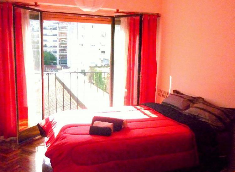 Alquiler temporario apartamento 2 personas recoleta