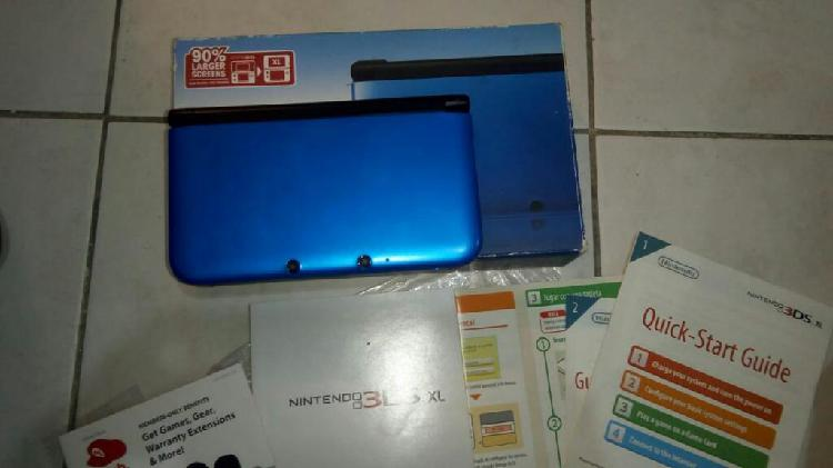Nintendo 3ds xl flasheada 32 gb juegos