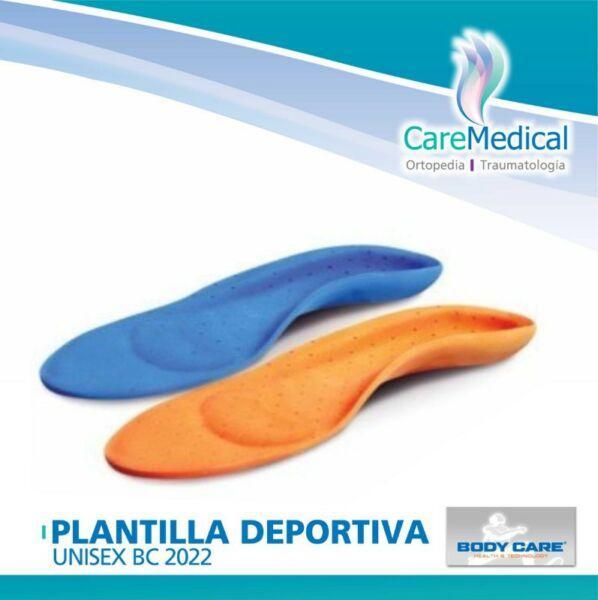 b909f93407d Plantilla deportiva unisex bodycare - ortopedia care medical