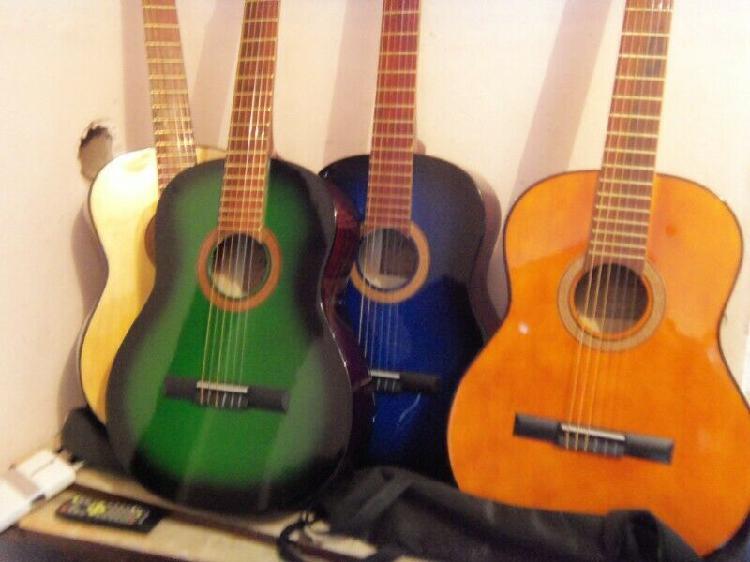 Guitarras criollas nuevas con funda, de estudio