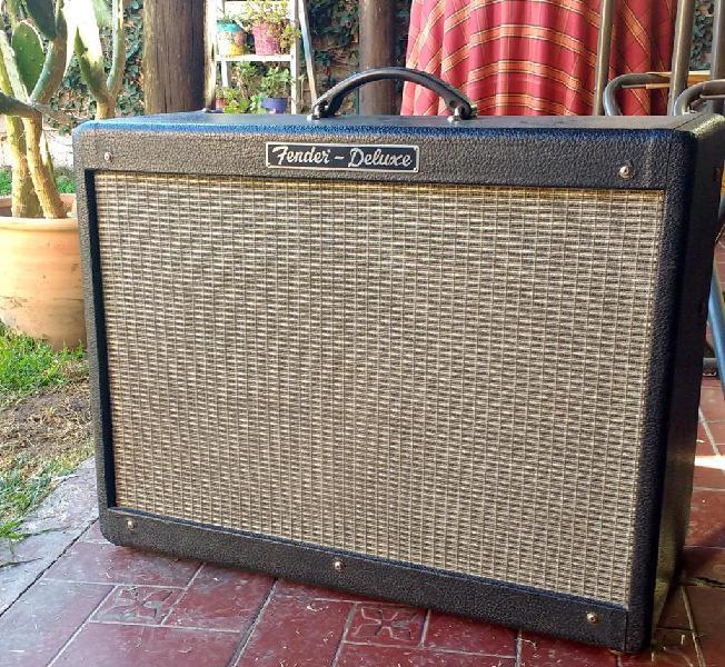 Amplificador guitarra fender hot rod usa deluxe