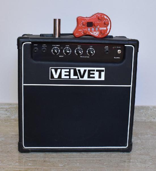 Amplificador velvet multiefecto