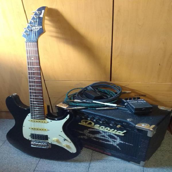 Combo guitarra aplificador pedal