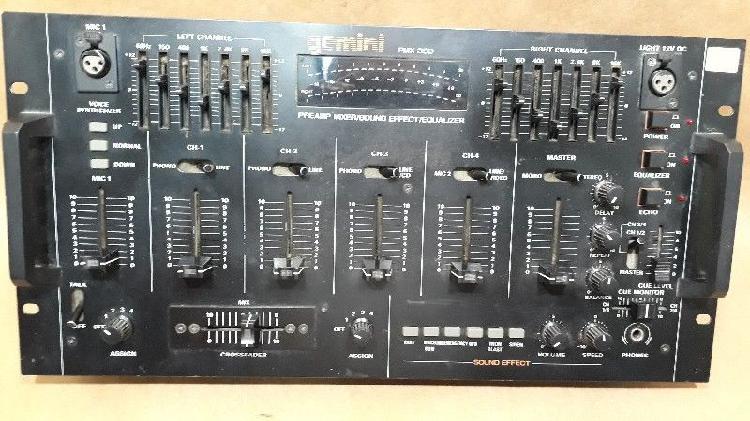 Consola Mezcladora Gemini PMX 350