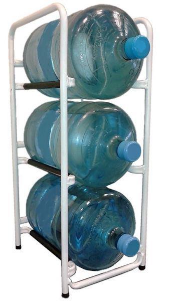 Mini Rack fijo de 3 unidades para Bidones de Agua