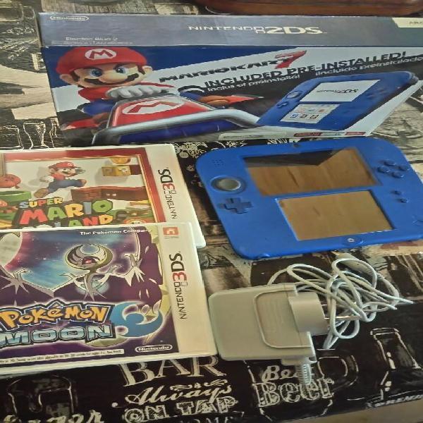 Nintendo 2ds Juegos poco Uso
