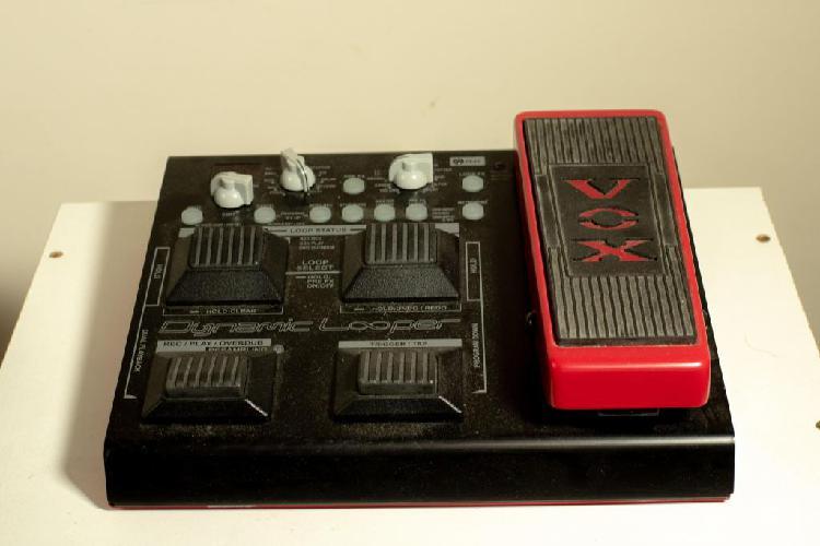 Vox vdl1 loop pedalera