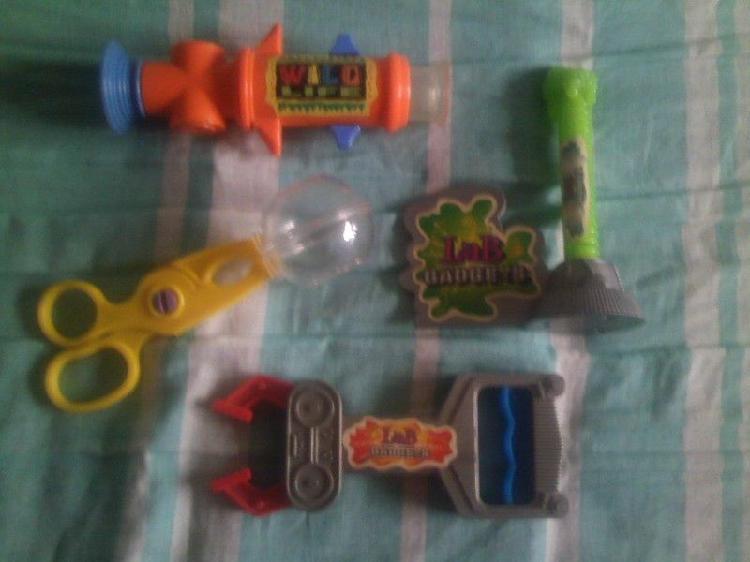 mix de herramientas de juguete