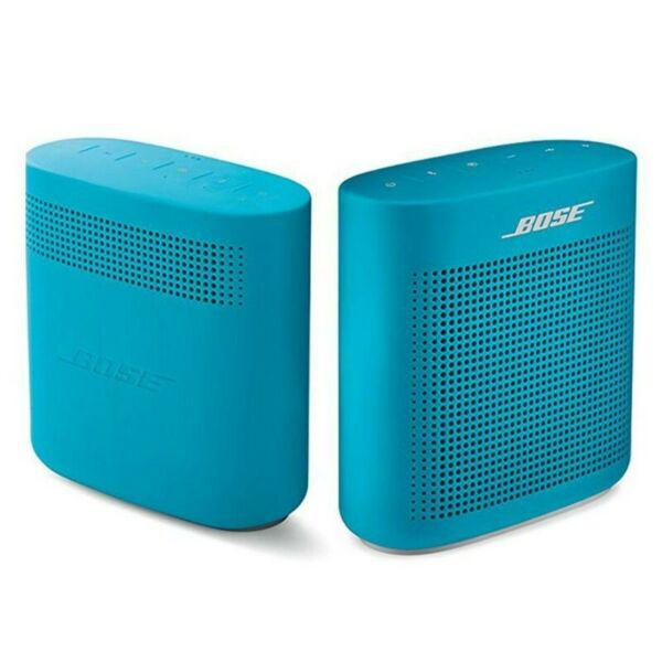 Parlante bose bluetooth inalámbrico soundlink color ii azul
