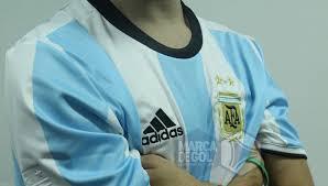 Camiseta argentina 2017 adidas talle xl original no thai