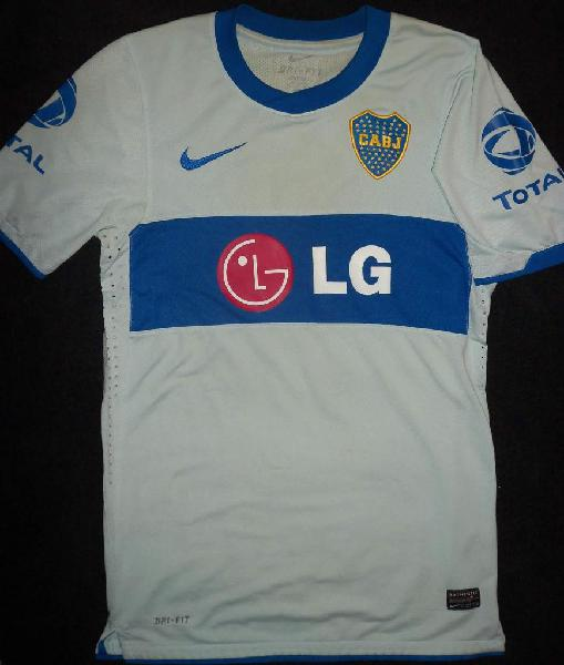 Camiseta boca jrs nike alternativa 2011 de coleccion