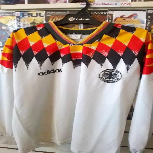 Impecable camiseta seleccion alemania 1994, l