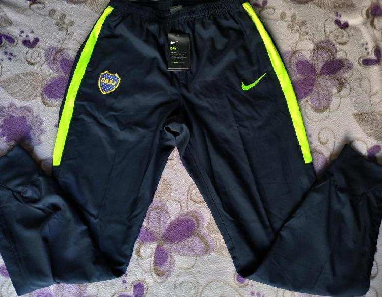 Pantalon chupin utileria boca jrs nike 2016 2017 dry squad