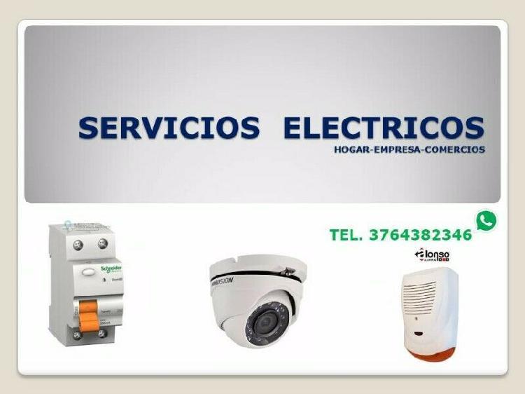 Tec. electricista industrial.