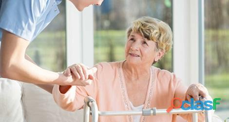 Cuidado de personas. acompañante. adultos mayores. a domicilio.