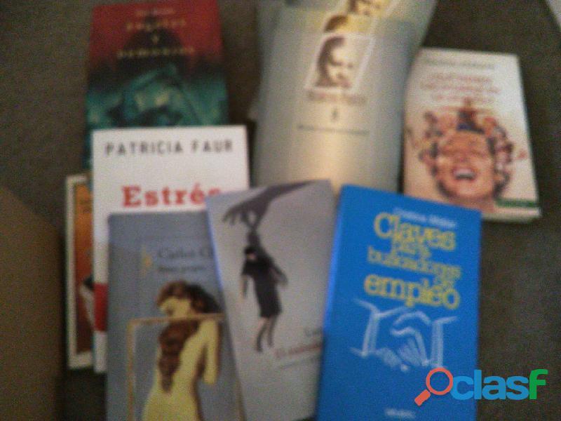 vendo lote de libros