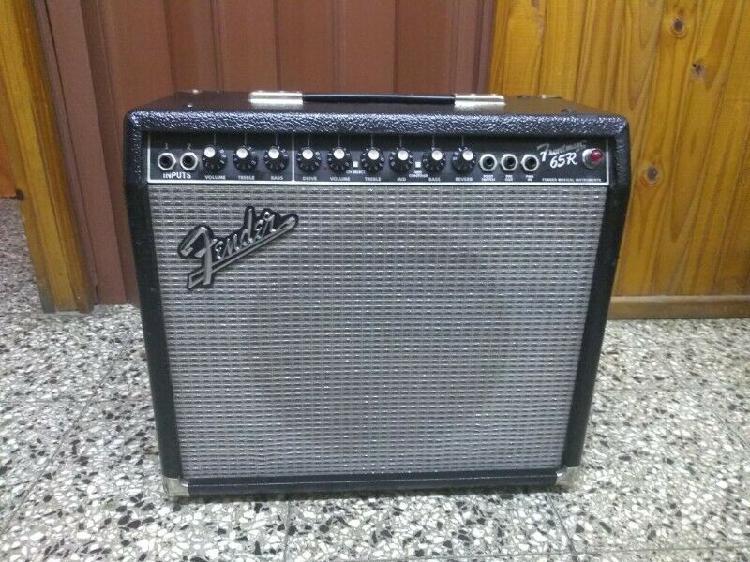 Amplificador de guitarra fender frontman 65r exelente