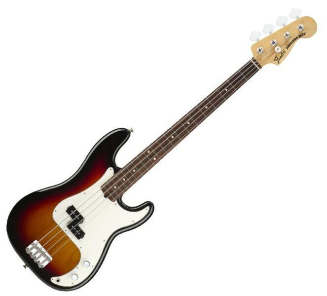 Bajo fender american special precision bass sunburst usa