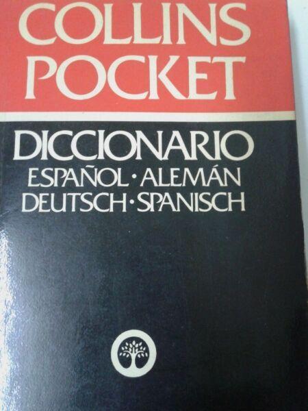 Diccionario collins pocket español aleman alemanespanol