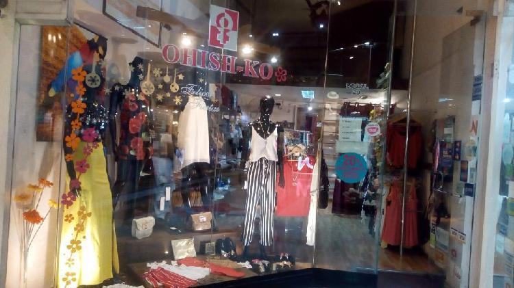 Fondo de comercio indumentaria femenina